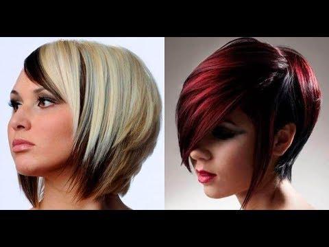 Тренды 2019-2020 Модные оттенки и техники окрашивания на короткие волосы!