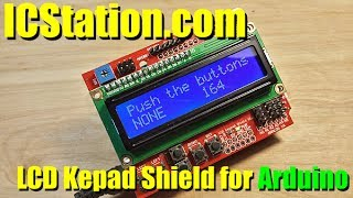 ICStation com LCD Keypad Shield for Arduino Review