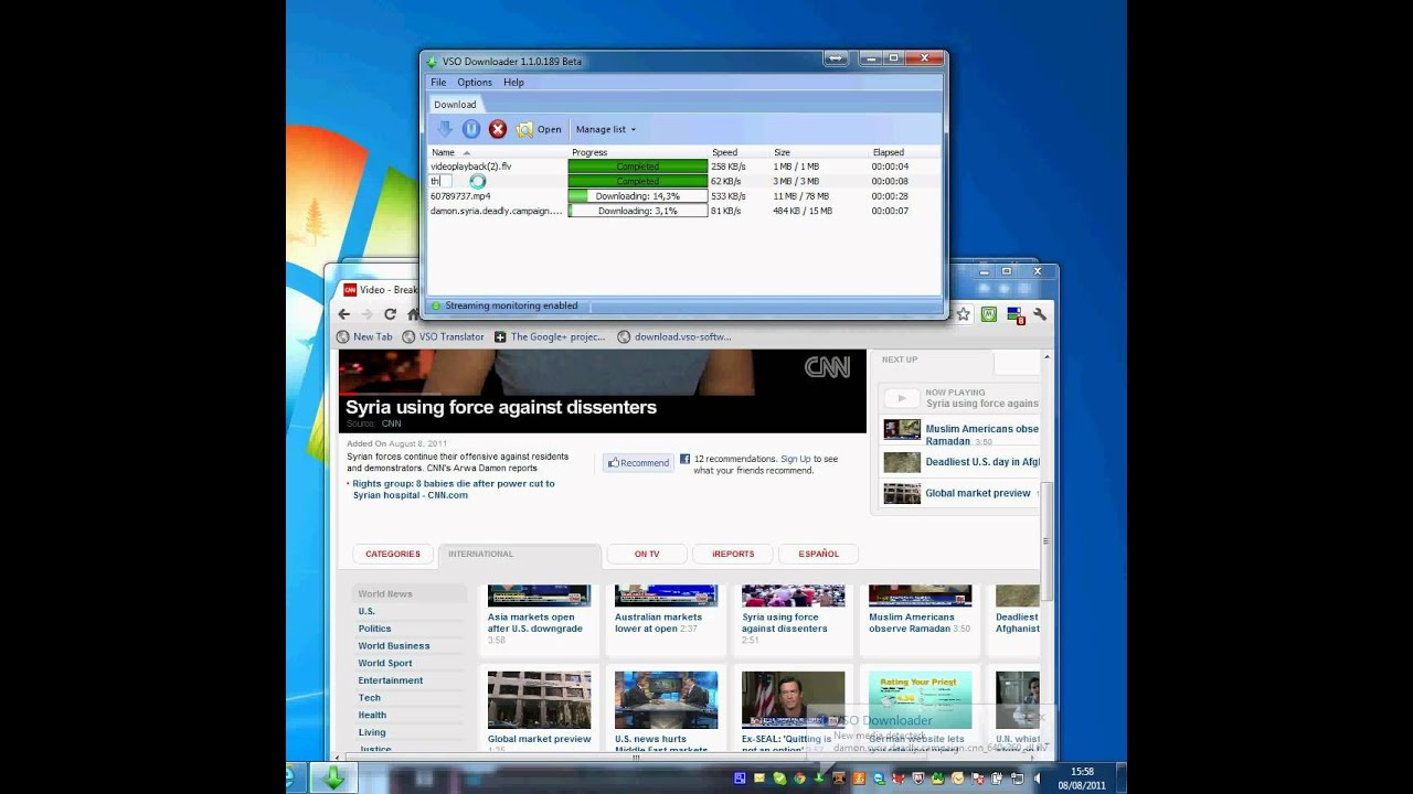 download video streaming for free - VSO Downloader