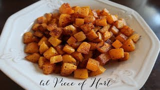 The Best Butternut Squash EVER! | lil Piece of Hart