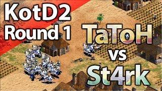 TaToH vs St4rk | King Of The Desert 2 | Round 1