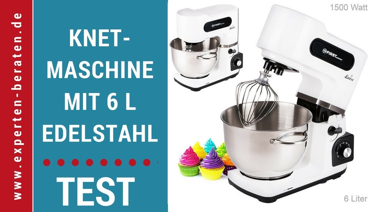 Tzs First Austria Luise Kuchenmaschine Test 1 Youtube