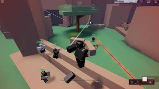 BEAR defense against the Vaktovian Army (Roblox - War Clans)