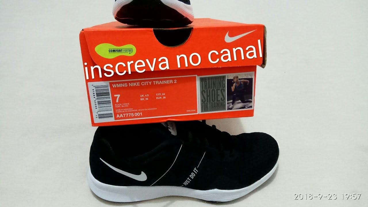 dfe965d3b9 Tênis Nike city trainer 2 feminino - YouTube
