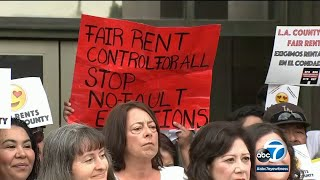 LA County rent control ordinance approved by Board of Supervisors | ABC7