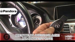 Mercedes E-Klasse W212 W213: Pandora Autoalarm - Distronic mit Zusatzsensor SICHER gegen Diebstahl