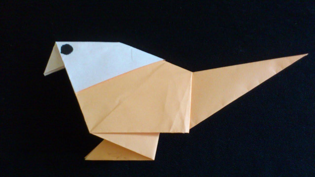 Cara Membuat Origami Burung Sederhana Origami Binatang