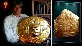 Solid Gold Star Map Found In Peru?