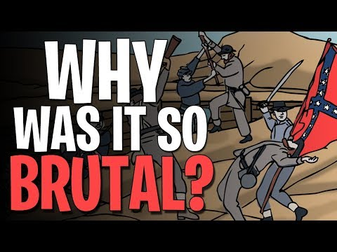 What Made The American Civil War so Deadly?  Animated History