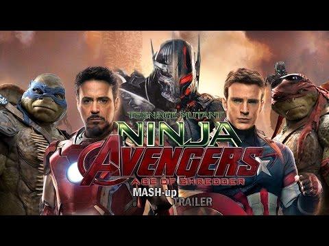 Teenage Mutant Ninja Avengers: Age Of Shredder (Avengers: Age Of Ultron/TMNT 2014 MASH up TRAILER)