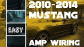 Factory Stereo Wiring Diagram Ford Mustang 2010 2014 Youtube