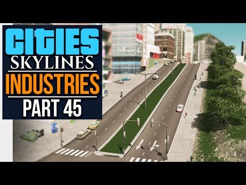 Cities: Skylines Industries | QUAY TO THE CITY (#45)