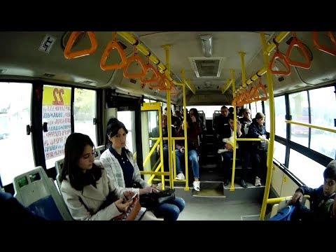 Yerevan, 30.10.17, Mo, Video-1, Nstenk Avtobus Masivum.