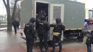 Задержание в Минске. Академия наук