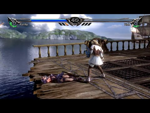 Soul Calibur V Female Tournament-CPU Matches