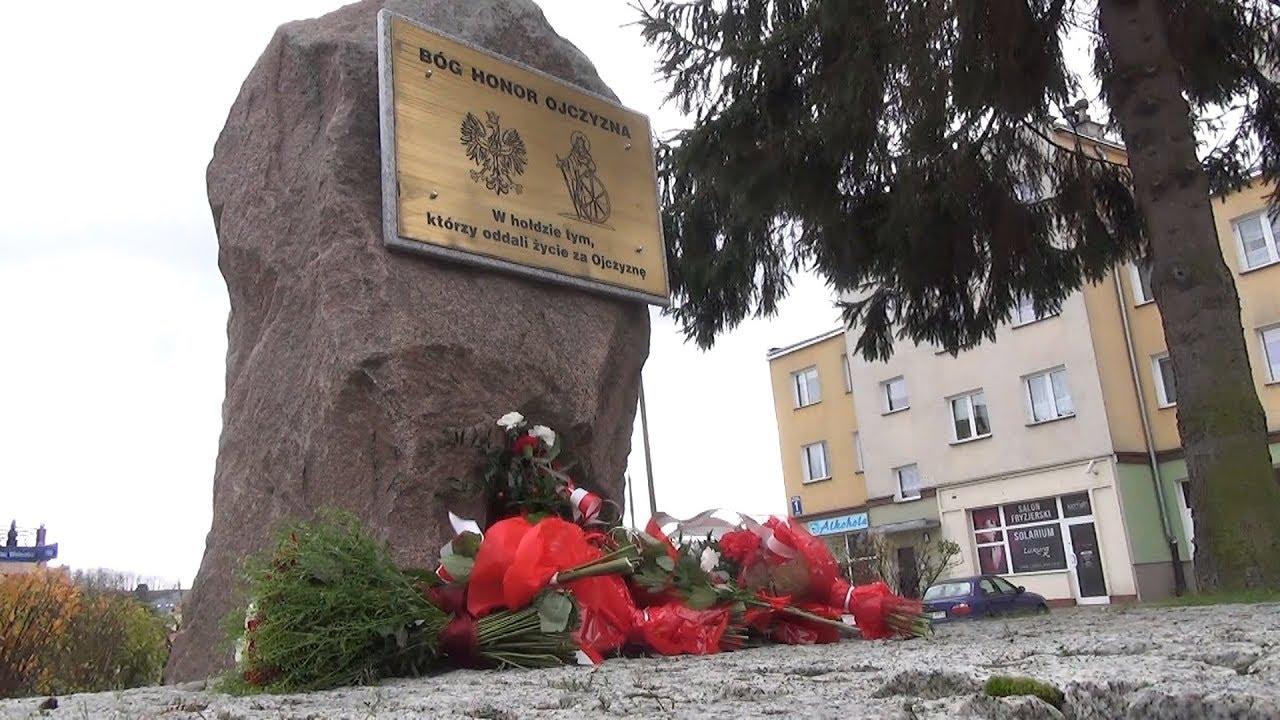 Mieszkańcy Dzierzgonia uczcili 99. rocznicę odzyskania niepodległości – 11.11.2017