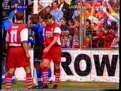 Kickers Offenbach - SV Waldhof Mannheim (0:0) - Regionalliga Süd 1998/1999 - 31. Spieltag - HR