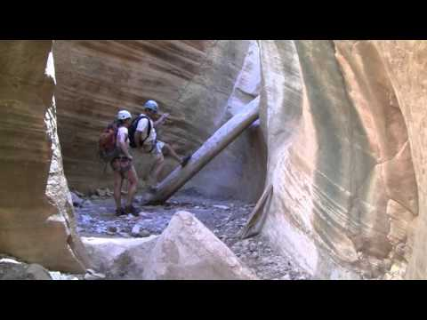 Canyoneering Capitol Reef