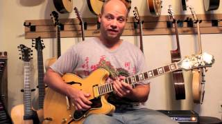 Epiphone Sheraton Elite MIJ Matt Raines Guitar Review Gibson 335 Style