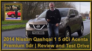 Review and Virtual Video Test Drive In Our 2014 Nissan Qashqai 1 5 dCi Acenta Premium 5dr PE64NRO