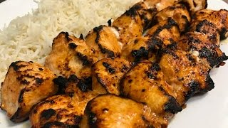 How To Make Turkish Chicken Kebab (Tavuk Şiş)