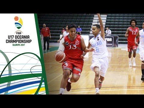 New Caledonia v Palau - Full Game - FIBA U17 Oceania Championship 2017