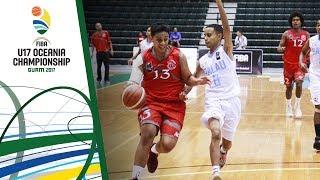 New Caledonia v Palau - Full Game - FIBA U17 Oceania Championship 2017 thumbnail