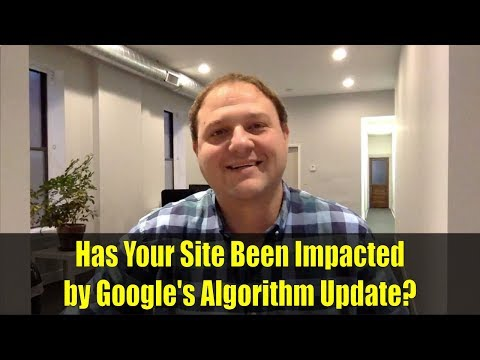 Has Your Site Been Impacted by Google's Algorithm Update?
