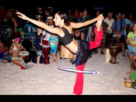 Nokomis Beach Drum Circle 2012