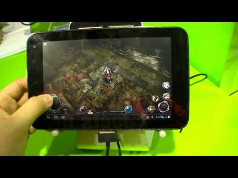 ZTE T98 Tegra 3 Tablet Hands On (English)