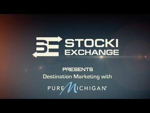 Destination Marketing with Pure Michigan - Stocki Exchange Marketing Show