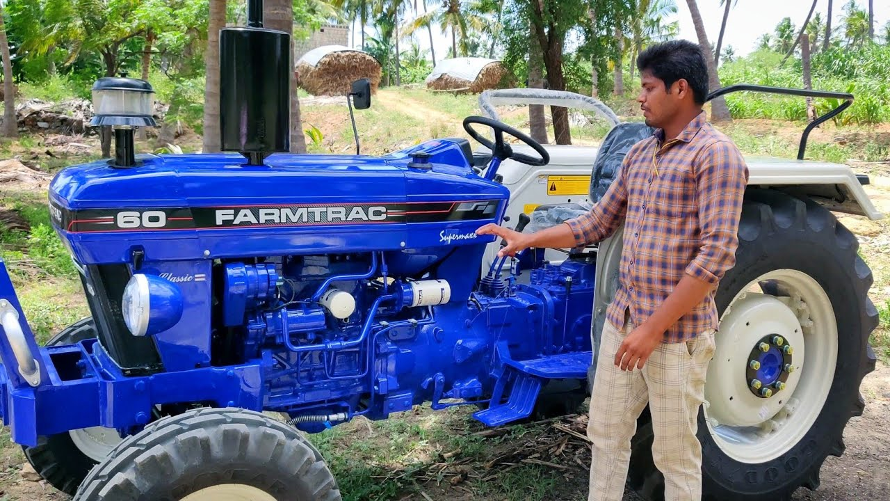 Farmtrac 60 Supermaxx classic tractor Full review   features and specifications   Agriculture INDIA