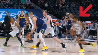 Nikola Jokic SIXTH SENSE vs Spurs | He knows when double-team is coming!