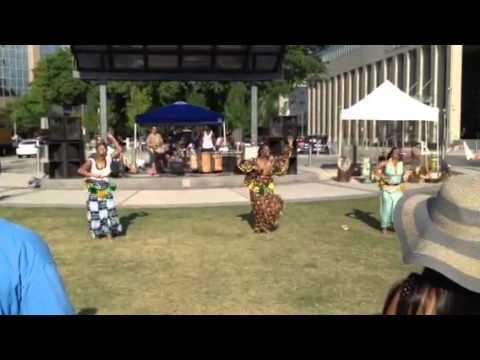 N'Fungola Sibo at Fest for All Baton Rouge
