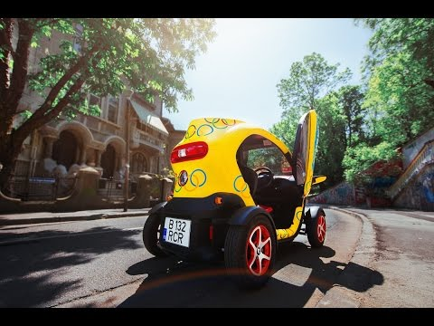 Renault Twizy Urban Test Drive | Review