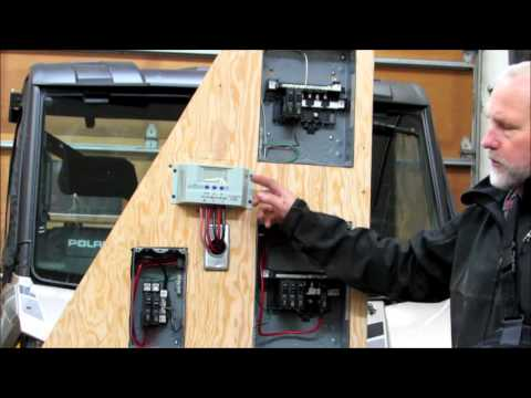 Offgrid Cabin Electrical Center
