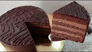 торт ПРАГА Классический рецепт Легендарный торт Шоколадный торт