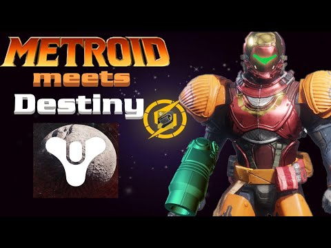 When Samus Aran Enters The Crucible (Metroid Meets Destiny 2)