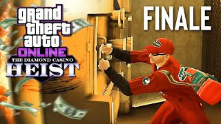 New DIAMOND CASINO HEIST, Finale! (GTA 5 Online Heists DLC)