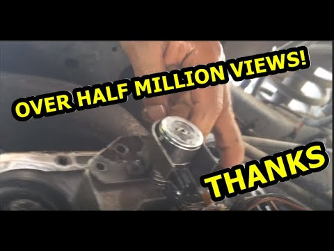 How To Change Transmission Pressure Solenoid/Pressure Sensor/Filter Dodge Ram 47RE