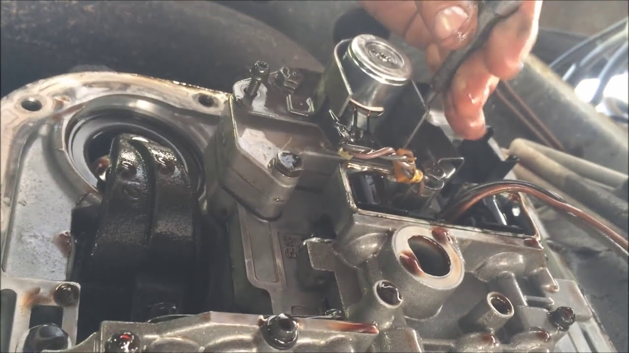 How To Change Transmission Pressure Solenoid/Pressure Sensor/Filter Dodge  Ram 47re  Conquryourfear & Do It Yourself 09:11 HD