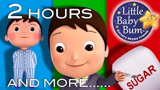 Johny Johny Yes Papa | 2 HOURS of Nursery Rhyme Videos from LBB!