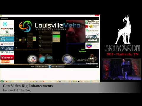 SkyDogCON 2013: Con Video Rig Enhancements - IronGeek & SkyDog