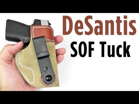 Desantis SOF Tuck: Concealed Carry Holster Review