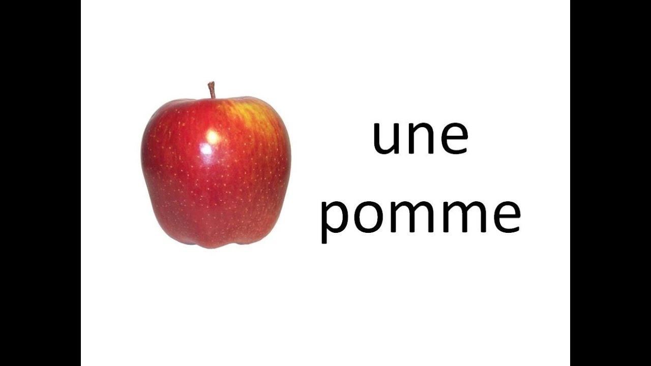 Fabulous Apprendre les fruits et légumes en français! (avec audio)- Fruits  EO15
