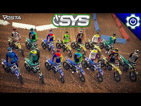 MX Simulator - Vitamin Water / SYS Racing 2017