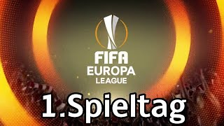 Fifa europa league 2018 | gruppenphase | 1.spieltag | alle spiele, alle tore | marcsarpei