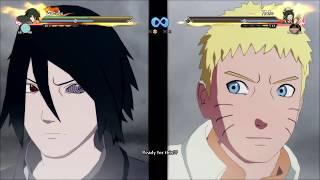 Naruto (Hokage) and Sasuke (Road to Boruto) vs Zabuza and Haku NUNS4 Xbox One