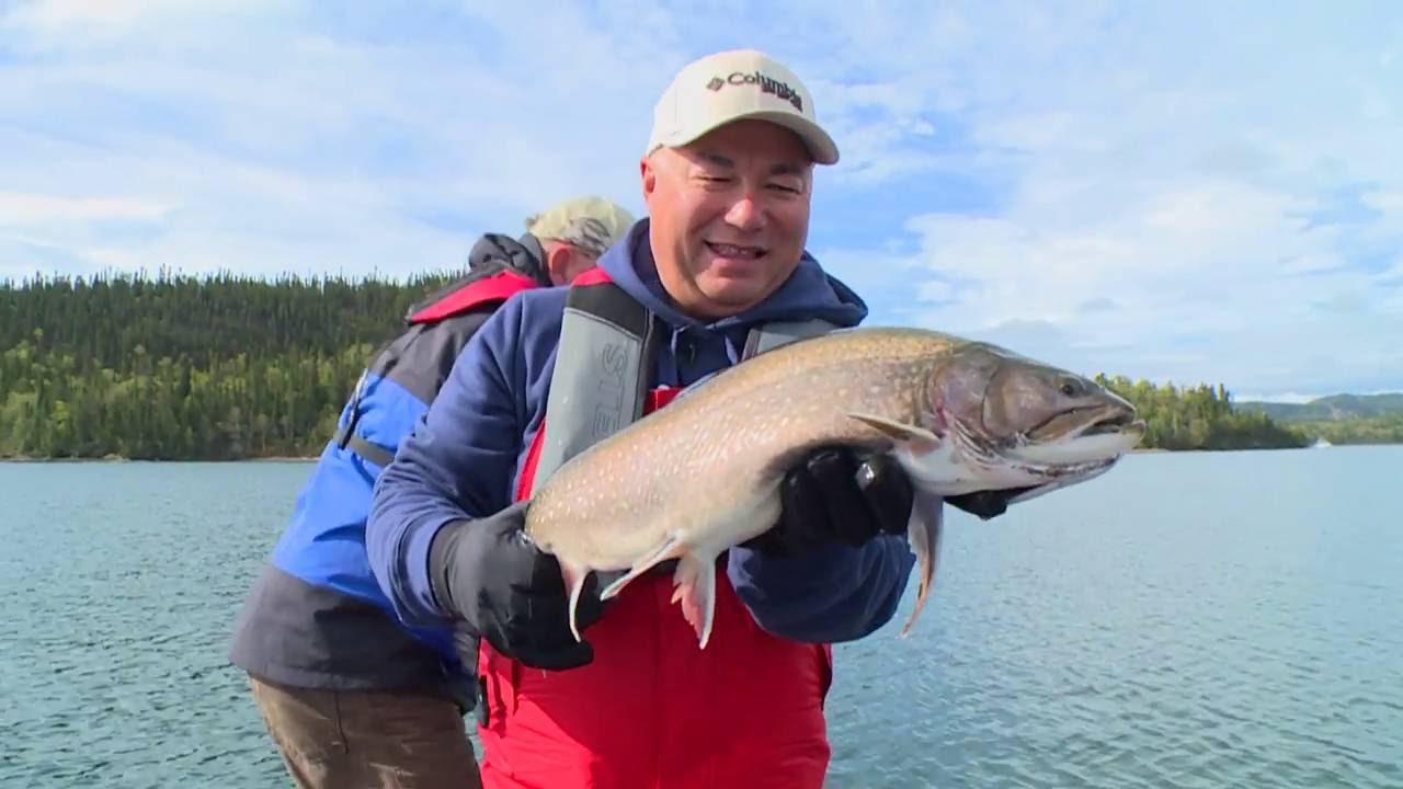 Real fishing show coasters on lake superior bob izumi for Lake superior salmon fishing