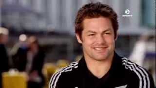 Richie McCaw on his break from Rugby